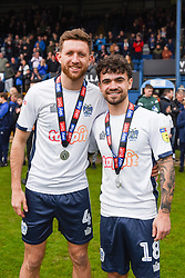 Bury celebrate promotion - Mandatory by-line: JMP - 04/05/2019 - FOOTBALL - Gigg Lane - Bury, England - Bury v Port Vale - Sky Bet League Two