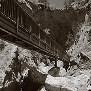 Below Tonto Natural Bridge