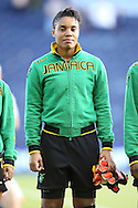 16 October 2014: Nicole McClure (JAM). The Jamaica Women's National Team played the Martinique Women's National Team at Sporting Park in Kansas City, Kansas in a 2014 CONCACAF Women's Championship Group B game, which serves as a qualifying tournament for the 2015 FIFA Women's World Cup in Canada. Jamaica won the game 6-0.