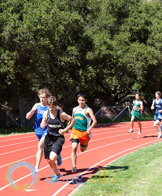 Thacher School Track and Field, April 2011