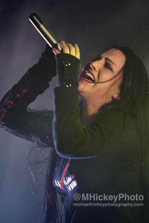 Amy Lee of Evanescence Photo by Michael Hickey