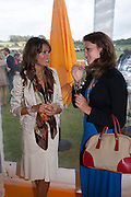 CLAIRE WYLDE; MIRANDA MARSH, Veuve Clicquot Gold Cup. Cowdray Park on July 20, 2008 . Midhurst, England.