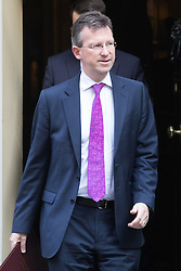 Downing Street, London, September 13th 2016. Attorney General Jeremy Wright leaves the weekly cabinet meeting at Downing Street.