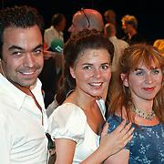 Laatste voorstelling Elisabeth, Maaike Widdershoven en Ryan van den Akker