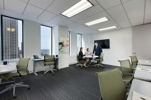 Interior Image Of Downtown Pittsburgh PA Office Building By Jeffrey Sauers  Of Commercial Photographics, Architectural.