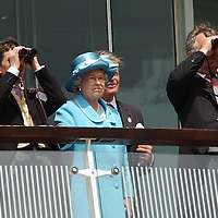 Epsom Derby 2003..HRH doesn't look like she's winning any money on this one either!.......