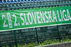 during football match between ND Ilirija 1911 and NK Nafta 1903 in Round #24 of 2nd Slovenian football league 2017/18, on April 21, 2018 in Ljubljana, Slovenia. Photo by Urban Urbanc / Sportida