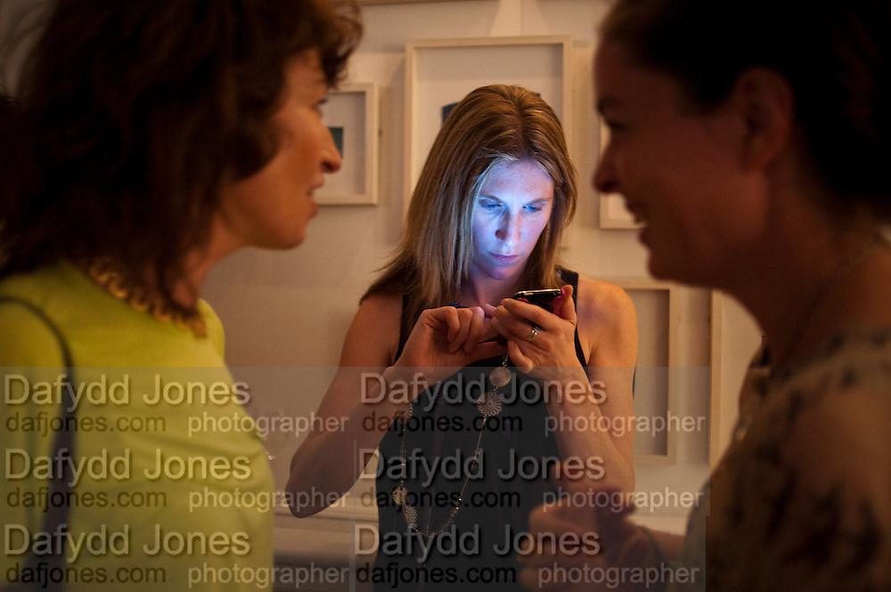 ZOE CALVERT, London On A Plate - launch of new iPhone app.<br /> Morton's Club, 28 Berkeley Square,  London, 1 June 2011<br /> <br /> <br />  , -DO NOT ARCHIVE-© Copyright Photograph by Dafydd Jones. 248 Clapham Rd. London SW9 0PZ. Tel 0207 820 0771. www.dafjones.com.