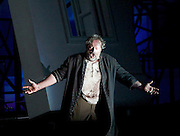 The Force of Destiny <br /> by Verdi <br /> English National Opera and the London Coliseum, London, Great Britain <br /> rehearsal<br /> 6th November 2015 <br /> <br /> <br /> <br /> Gwyn Hughes Jones as Don Alvaro <br /> <br /> <br /> Photograph by Elliott Franks <br /> Image licensed to Elliott Franks Photography Services