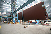 Celebrity Equinox under construction in Papenburg, Germany.