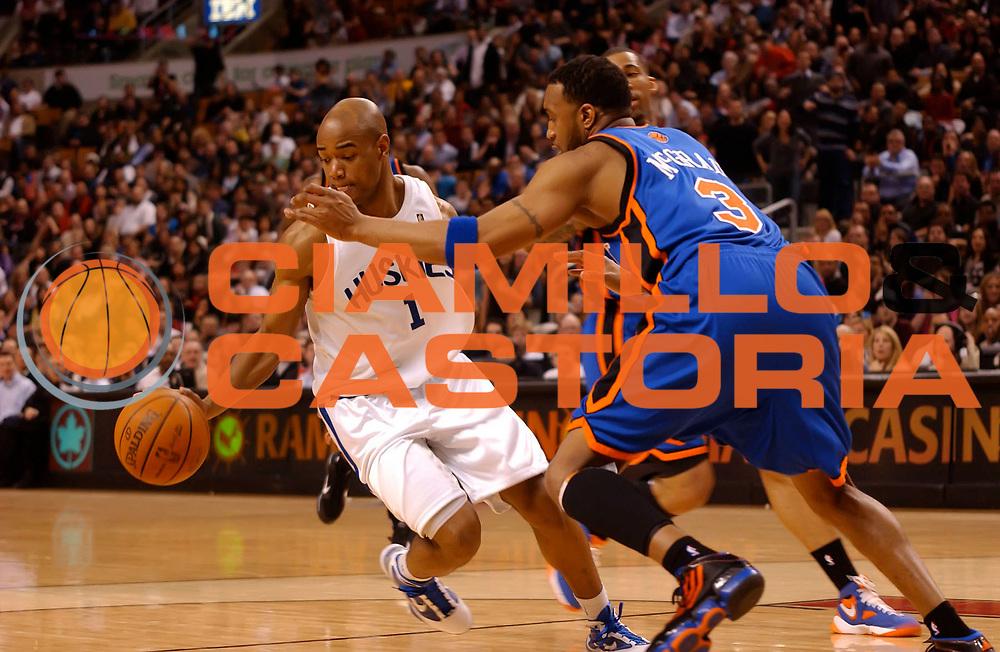 DESCRIZIONE : Toronto NBA 2009-2010 Toronto Raptors New York Knicks<br /> GIOCATORE : Jarrett Jack<br /> SQUADRA : Toronto Raptors New York Knicks<br /> EVENTO : Campionato NBA 2009-2010 <br /> GARA : Toronto Raptors New York Knicks<br /> DATA : 05/03/2010<br /> CATEGORIA :<br /> SPORT : Pallacanestro <br /> AUTORE : Agenzia Ciamillo-Castoria/V.Keslassy<br /> Galleria : NBA 2009-2010<br /> Fotonotizia : Toronto NBA 2009-2010 Toronto Raptors New York Knicks<br /> Predefinita :