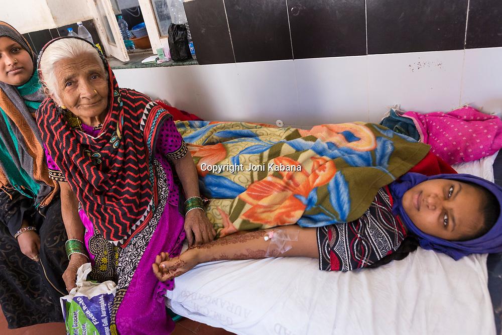 Government Hospital in Aurangabad, Maharashtra, India