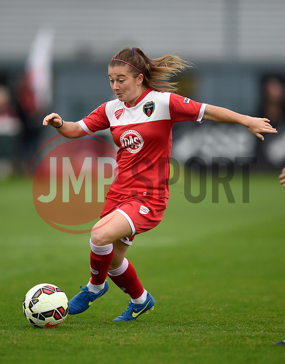 Christie Murray of Bristol Academy Women in action against Liverpool Ladies - Mandatory by-line: Paul Knight/JMP - Mobile: 07966 386802 - 04/10/2015 -  FOOTBALL - Stoke Gifford Stadium - Bristol, England -  Bristol Academy Women v Liverpool Ladies FC - FA Women's Super League