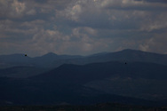 Mountains near Mystras, Greece<br /><br />Photo by Dennis Brack