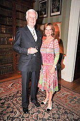 BARON & BARONESS VAN DEDEM at a party to celebrate the 250th anniversary of the Colnaghi Gallery held at Spencer House, London on 1st July 2010.