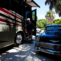 ST. PETERSBURG, FLORIDA -- A day in the life of Tampa Bay Rays manager Joe Maddon. (Photo by Chip Litherland)