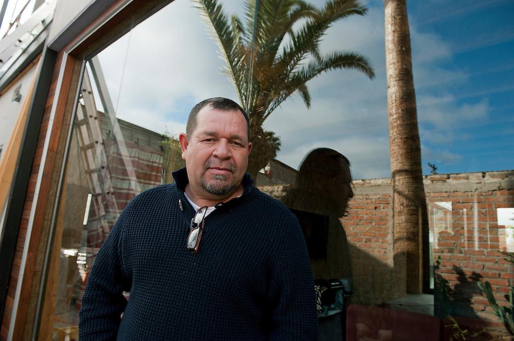 Marcos Ramirez, artist, Beto Ruiz, artist, Tijuana..© Stefan Falke.http://www.stefanfalke.com/..