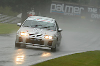 #83 David Coulthard MG ZR 190 during the MGCC Cockshoot Cup at Oulton Park, Little Budworth, Cheshire, United Kingdom. September 03 2016. World Copyright Peter Taylor/PSP.