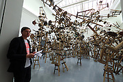 "55th Art Biennale in Venice - The Encyclopedic Palace (Il Palazzo Enciclopedico).<br /> Giardini. German Pavilion (this year in the France Pavilion).<br /> Ai Weiwei, China.<br /> ""Bang"", 2010 - 2013."