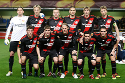 17.03.2011, El Madrigal, Villarreal, ESP, UEFA EL, FC Villarreal vs Bayer 04 Leverkusen, im Bild Bayer 04 Leverkusen's team photo during UEFA Europa League match.March 17,2011. . EXPA Pictures © 2011, PhotoCredit: EXPA/ Alterphotos/ Acero +++++ ATTENTION - OUT OF SPAIN / ESP +++++