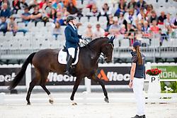 Anne Cecilie Ore, (NOR), Fidan 3 - Team Competition Grade III Para Dressage - Alltech FEI World Equestrian Games™ 2014 - Normandy, France.<br /> © Hippo Foto Team - Jon Stroud <br /> 25/06/14