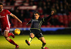 Tom Nichols of Bristol Rovers shoots at goal - Mandatory by-line: Robbie Stephenson/JMP - 26/12/2017 - FOOTBALL - Banks's Stadium - Walsall, England - Walsall v Bristol Rovers - Sky Bet League One