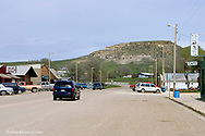 The town of Ekalaka, Montana, USA
