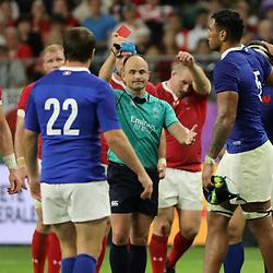 20,10,2019 Wales v France - Rugby World Cup 2019 - Quarter Final