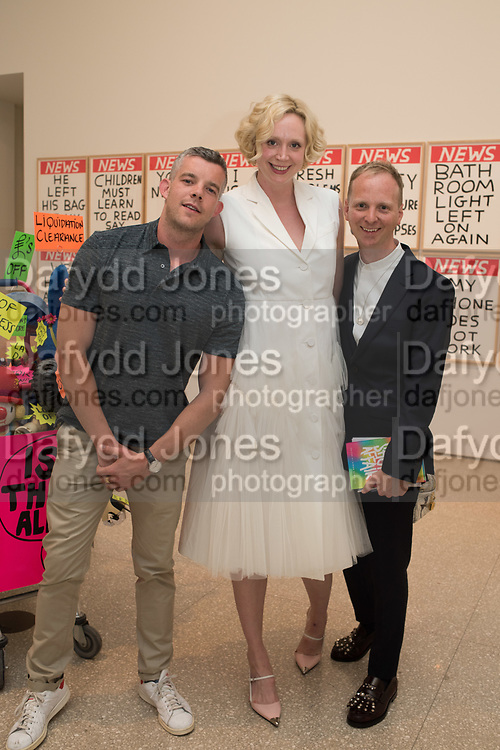 RUSSELL TOVEY, GWENDOLINE CHRISTIE; SIMON OLDFIELD,  RA & Pin Drop Short Story Award, presented by Gwendoline Christie who also gives a reading. Reception at the RA Schools for the launch the new book A Short Affair.
