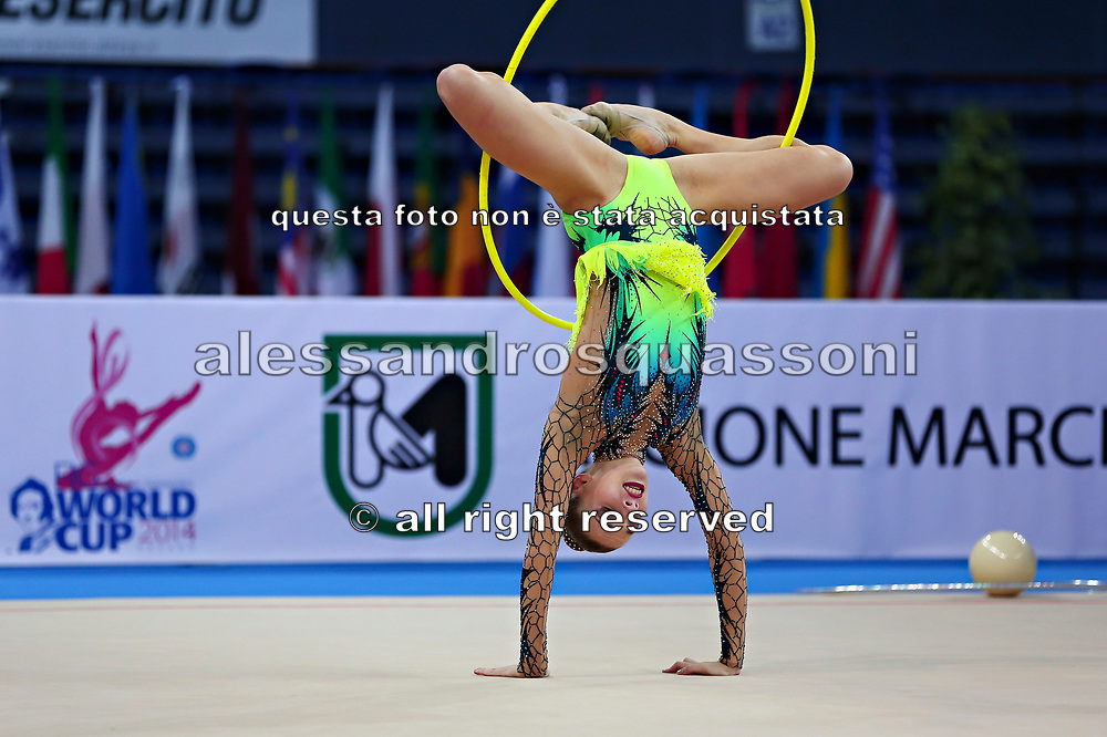 Melitina Staniouta born 15 November 1993, is a Belarusian retired individual rhythmic gymnast.