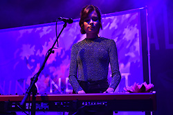 November 13, 2018 - London, England, United Kingdom - Scottish singer and songwriter Nina Nesbitt performs on stage at O2 Shepherd's Bush Empire, London on November 13, 2018. (Credit Image: © Alberto Pezzali/NurPhoto via ZUMA Press)