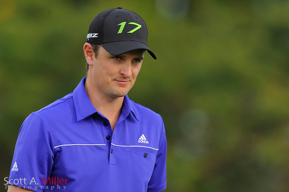 Justin Rose during the final round of the World Golf Championship Cadillac Championship on the TPC Blue Monster Course at Doral Golf Resort And Spa on March 11, 2012 in Doral, Fla. ..©2012 Scott A. Miller..
