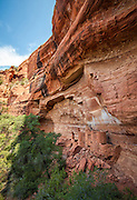 Anasazi dwellings at Wapatki Heritage site near Sedona, Arizona.
