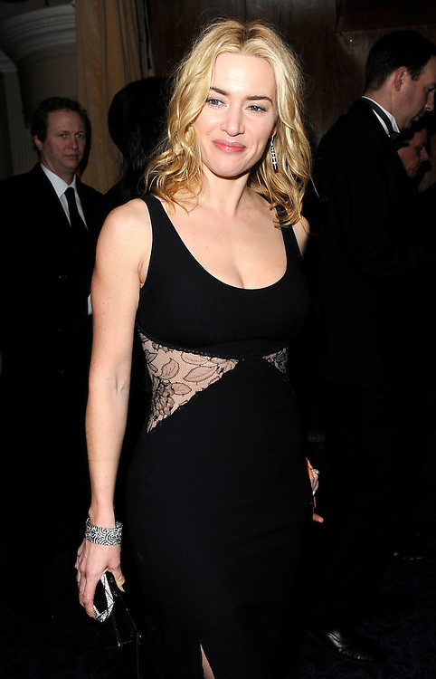 Kate Winslet arrives for the dinner following the Orange British Academy Film Awards 2010, at The Grosvenor House Hotel on February 21, 2010 in London