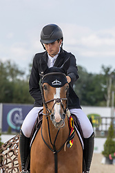 Philippaerts Anthony, BEL, All Right du Genet<br /> Belgisch Kampioenschap Jeugd Azelhof - Lier 2020<br /> © Hippo Foto - Dirk Caremans<br /> 02/08/2020
