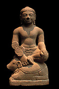 Agni (Hindu Fire God. 7th century, period uncertain, Cambodian.