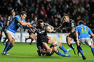 Heineken cup, season 2012-2013, pool 2 match, Ospreys v Benetton Treviso at the Liberty Stadium in Swansea, South Wales on Friday 12th October 2012.  pic by  Andrew Orchard, Andrew Orchard sports photography,