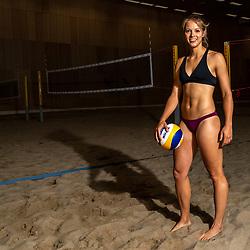 06-07-2018 NED: EC Beach teams Netherlands, The Hague<br /> Laura Bloem