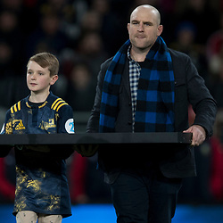 Carter &amp; Clarke Darmody (Highlander #87) during game 4 of the British and Irish Lions 2017 Tour of New Zealand,The match between  Highlanders and British and Irish Lions, Forsyth Barr Stadium, Dunedin, Tuesday 13th June 2017<br /> (Photo by Kevin Booth Steve Haag Sports)<br /> <br /> Images for social media must have consent from Steve Haag
