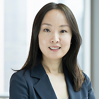 Mirae Asset Global Investments Senior Portfolio Manager Joohee An from South Korea poses for a portrait at the company headquarters on 07 August 2015 in Hong Kong, China. Photo by Victor Fraile / studioEAST