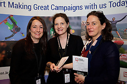 29/10/2015<br /> IAB Conference at the Guinness Storehouse.<br /> (l-r):<br /> Katie Molony (Maximum Media); <br /> Emma Ferguson (Horseware)<br /> and Val Kennedy (Horseware).
