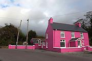 The Pink House, Adrigole, Beara, Co. Cork, Ireland