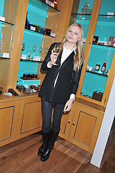 A reception in honour of David Linley to recognise his ambassadorial role for Ruinart Champagne held at Linley, Pimlico Road, London on 24th October 2012.<br /> Picture shows:-KATIA ELIZAROVA