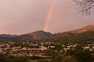 Bedoin area  village in the Mont ventoux area  Provence   /  Bedoin region . village  region du mont ventoux  Provence     /