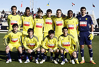 Fotball, 30. januar 2012 , Copa del Sol<br /> Tromsø - Anji<br /> <br /> lagbilde , team Picture Anji <br /> Gabulov , Agalarov ,Jucilei ,Lahiyalov ,Tagirbekov , Akhmedov , Carlos , Gadzhibekov , Zhirkov ,Gadzhiev ,Etoo