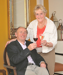 Liam and ??????? Quinn pictured at the 'Secret Supper' that was part of the Westport Food Festival.<br /> Pic Conor McKeown