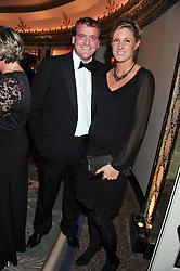 RICHARD & JEMIMA HANNON at the 21st Cartier Racing Awards held at The Dorchester, Park Lane, London on 15th November 2011.