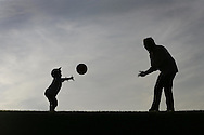 JAMES BOARDMAN / 07967642437 - 01444 412089 .Child Support Agency Feature - Martin Tyler with his son Jack 2 near there home in Whiltshire... .