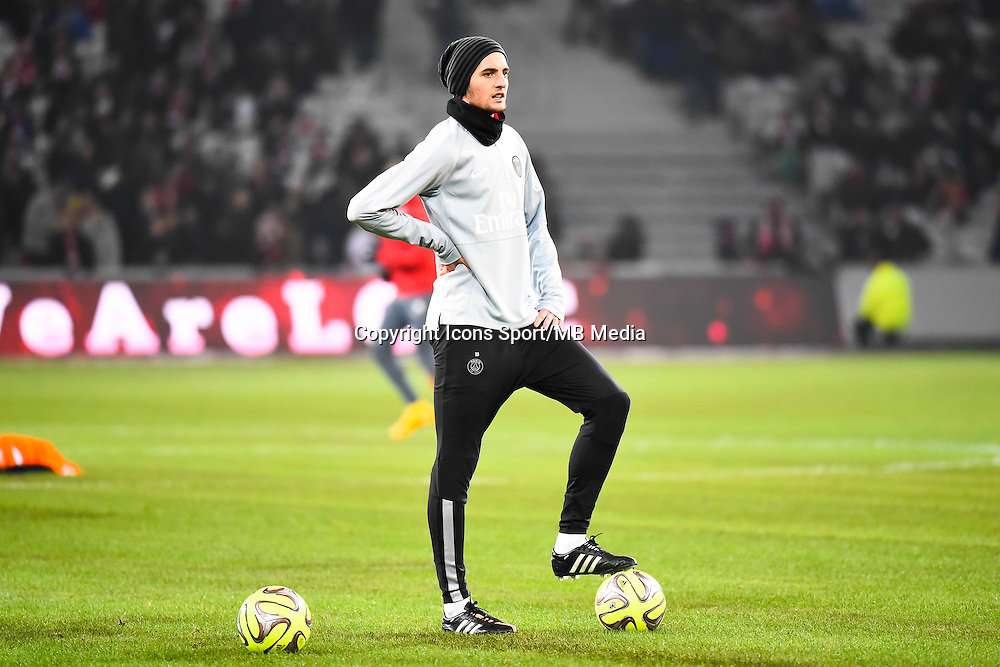 Adrien RABIOT - 03.12.2014 - Lille / Paris Saint Germain - 16eme journee de Ligue 1 -<br />