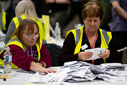 Edinburgh, Scotland, UK. 12th December 2019. Parliamentary General Election Count at the Royal Highland Centre in Edinburgh. Iain Masterton/Alamy Live News